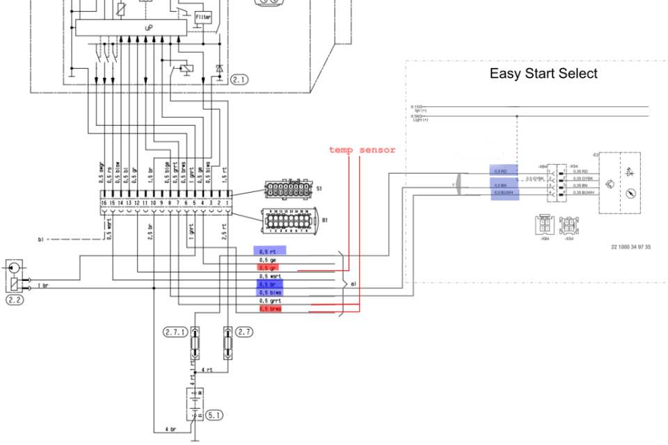 wiring diagram for thermostat installation