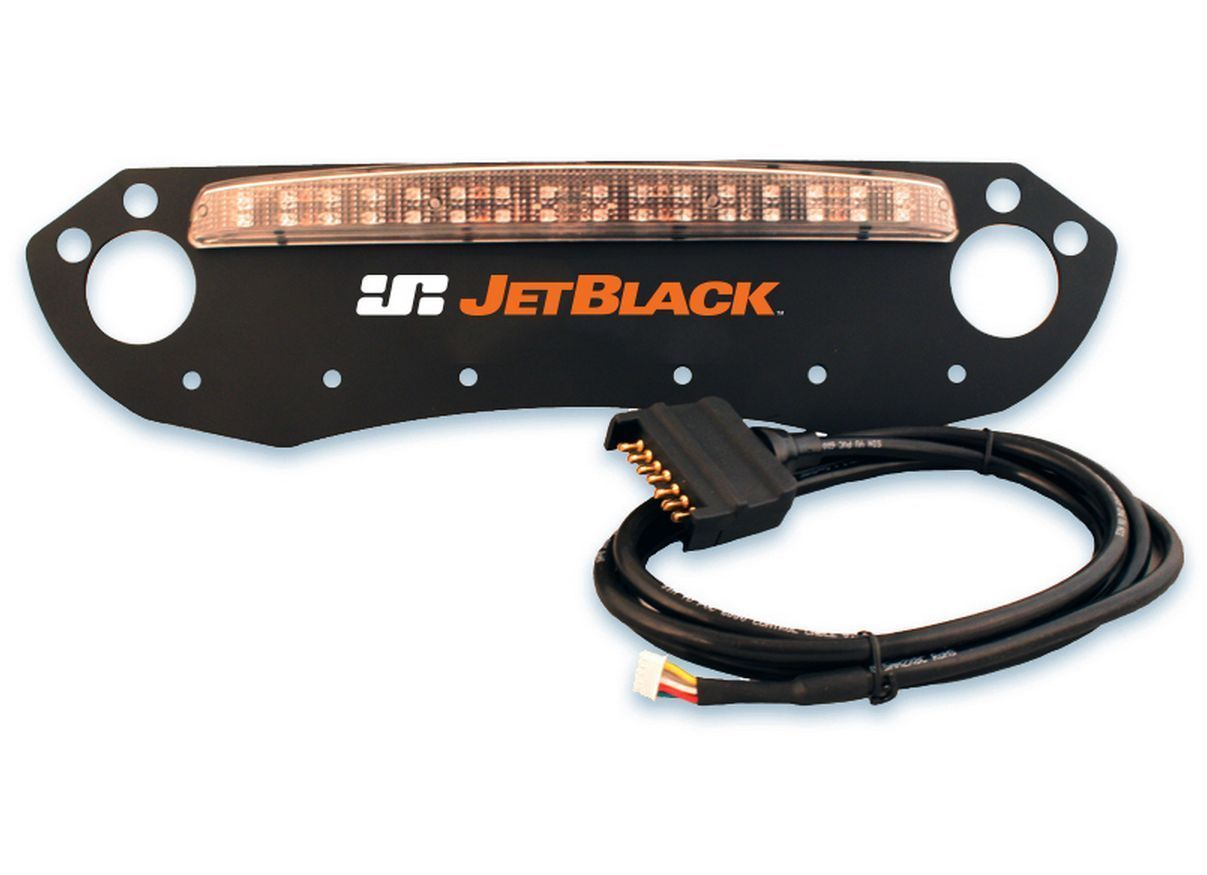 JetBlack Number Plate Board For JetRack Bike Carrier With