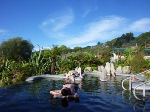 Waikite valley thermal pool