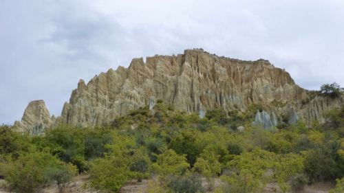 Clay Cliffs panorama