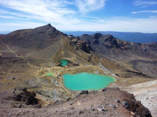Lacs Emeraudes tongariro