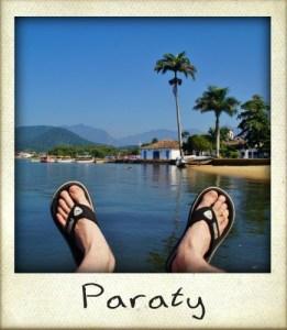 Paraty pieds