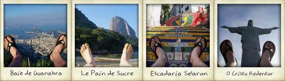 tour du monde de mes pieds brésil rio de janeiro