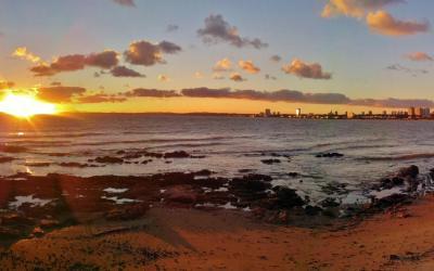 Coucher de soleil Punta del Este