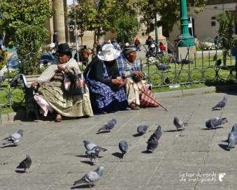costume traditionnel bolivien