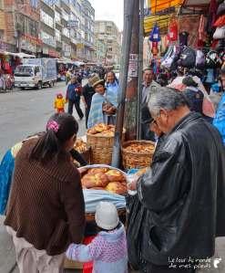 vendeur de pains la paz