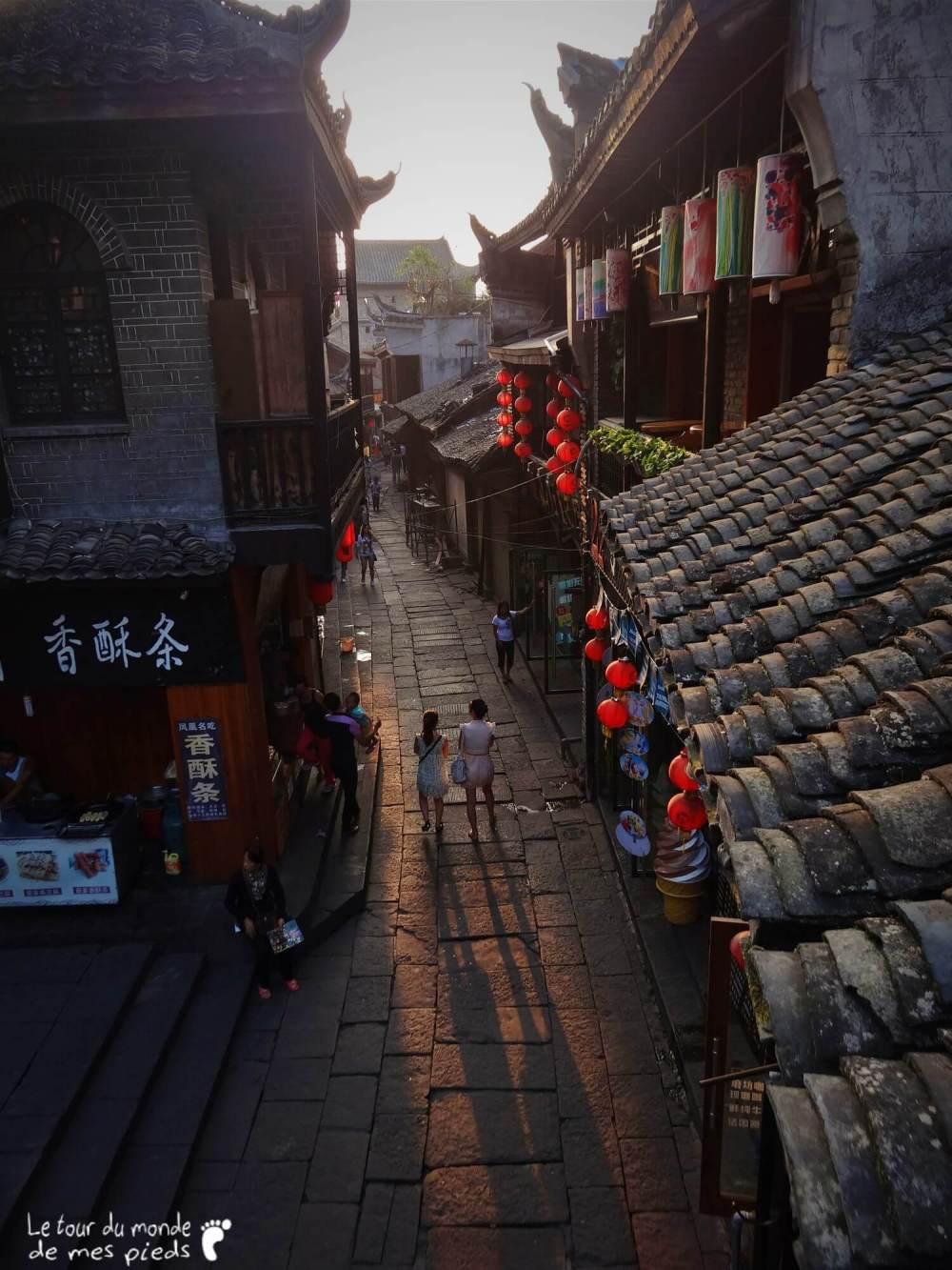 Fenghuang ruelles