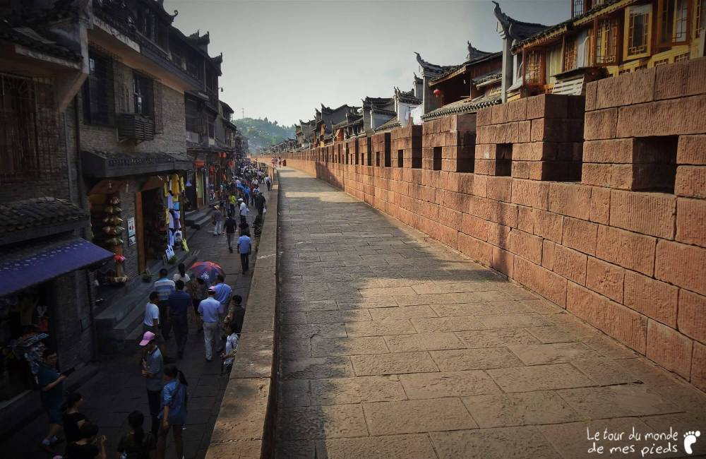 Fenghuang muraille