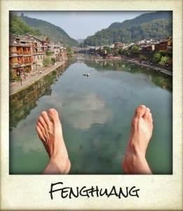 fenghuang pieds tour du monde