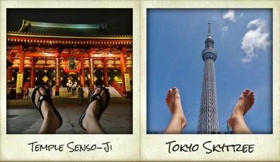 mes pieds autour du monde à Tokyo