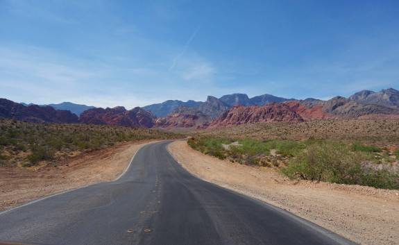 scenic drive red rock canyon