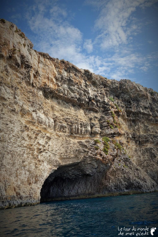 grotte de l'île de comino