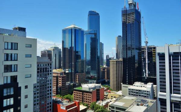 vue appartement melbourne
