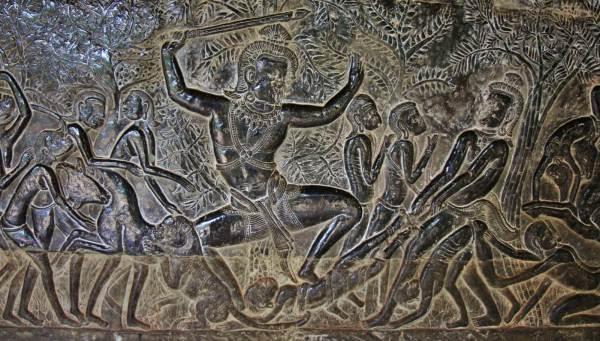 gravure temple angkor