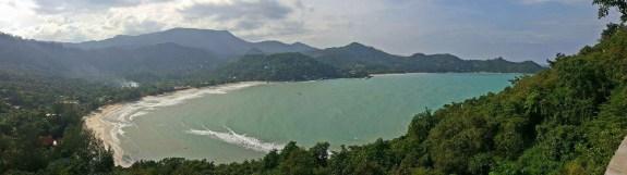 2CB Koh Phangan vue Thong Nai Pan