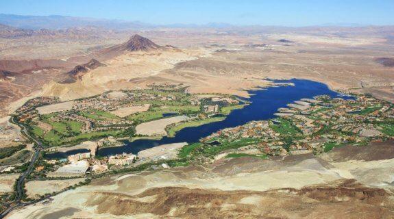 Lake Las Vegas hélicoptère