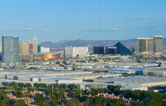 Balcon vue Strip Las Vegas