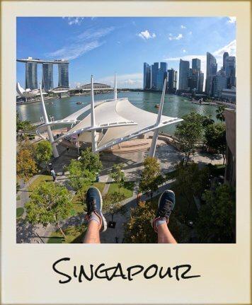 Singapour pieds panorama