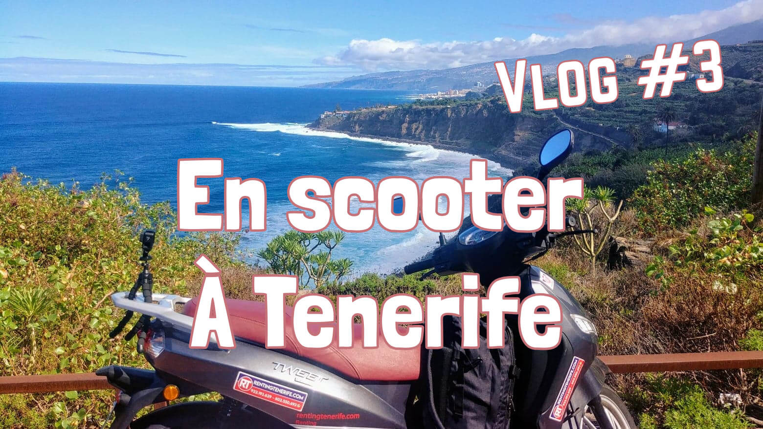 Scooter voyage Tenerife