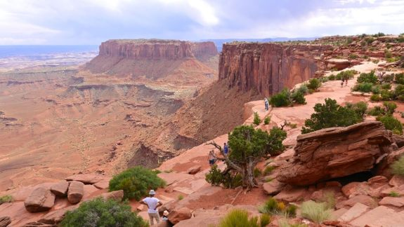 Panorama sur Canyonlands