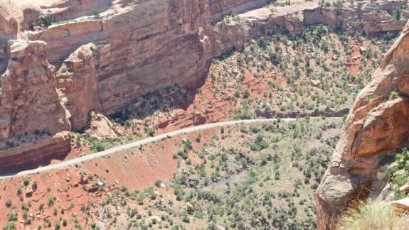 route Rim Rock Drive