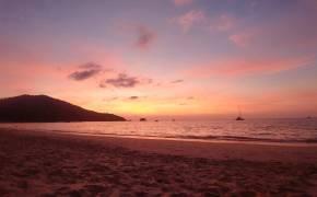 coucher soleil Ayo Nang Beach Phuket