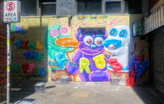 Croft Alley graff Melbourne