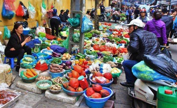 Dong Xuan Market Hanoï