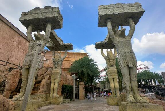 Universal Studios Singapore Ancient Egypt