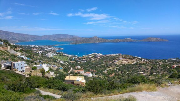 panorama Elounda Bay