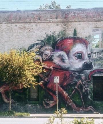 street art Fitzroy Melbourne