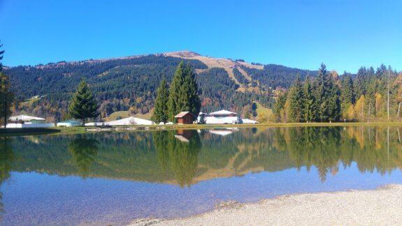 Le lac des Ecoles Gets