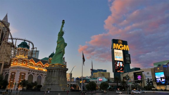 Las Vegas Strip spectacle MGM