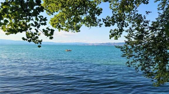 Lac Leman depuis Lugrin