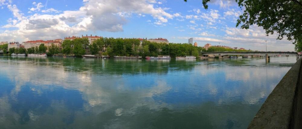 Panorama quais Lyon