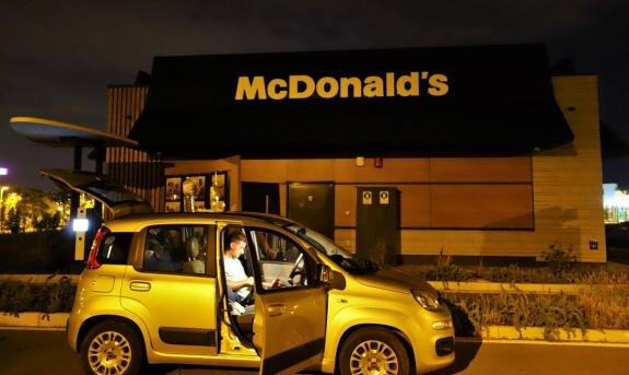 italie road trip mcdonalds