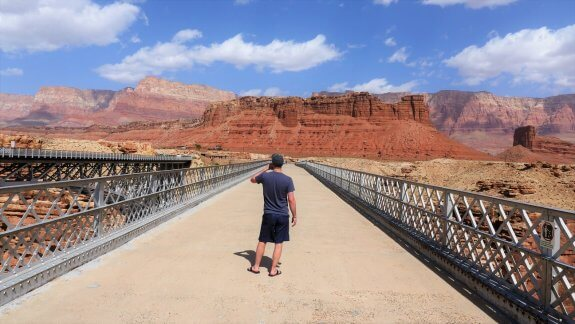 Navajo Bridge pont piéton