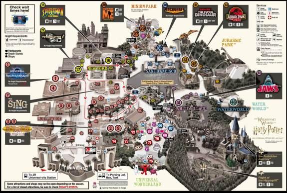 Plan Universal Studios Japan