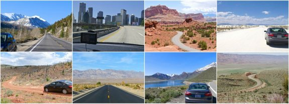 collage road trip usa bilan