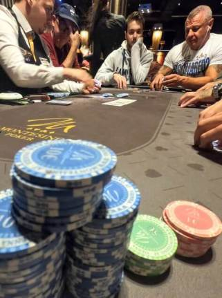 Poker chips Montesino Vienne