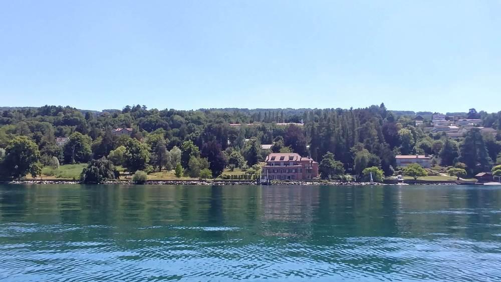 villa lac leman bord du lac