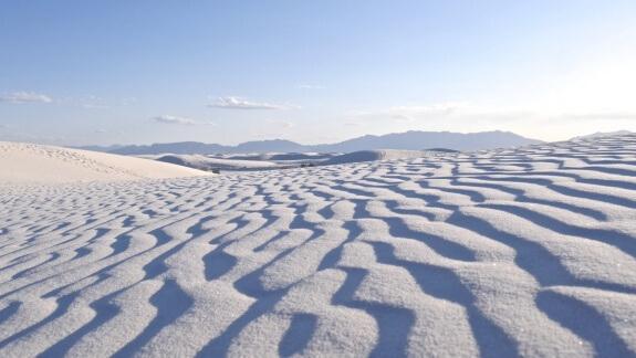 traces sable vent