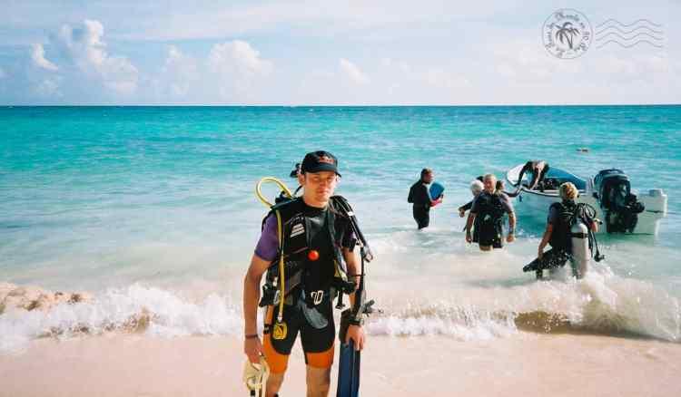 Embarquement sur la plage de Punta Cana