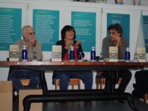 O autor, Ramón Area, á dereita desta imaxe