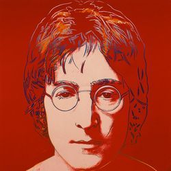 John Lennon, por Andy Warhol