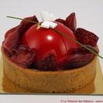 Tarte aux Fraises par Café Pouchkine