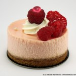 Cheesecake Rose Framboise par She's Cake