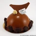 Dôme au Chocolat au Lait par Gilles Marchal