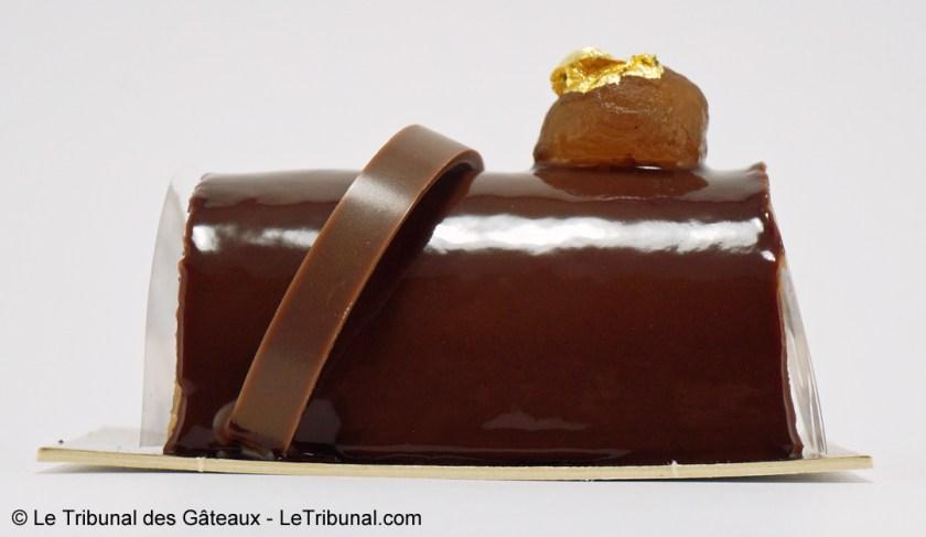 bûche la maison du chocolat