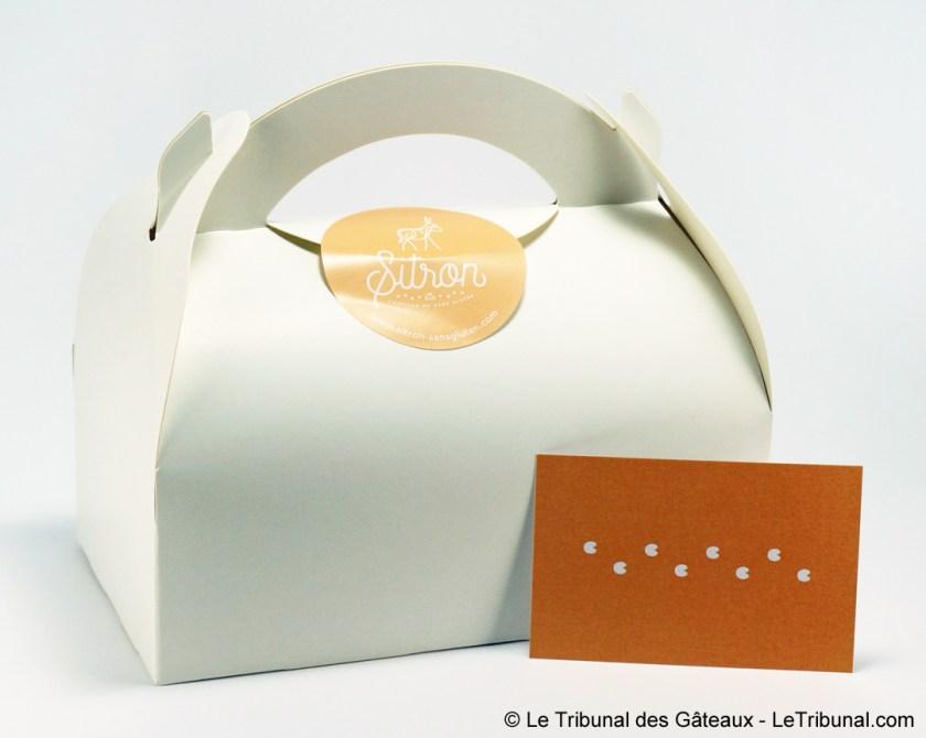 emballage pâtisserie Sitron sans gluten